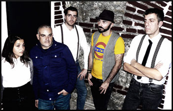La band The Falls in concerto al Contestaccio di Roma