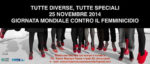 Tutte diverse, tutte speciali, la campagna indetta dai Teatri riuniti del Golfo per la giornata mondiale contro il femminicidio. Invia una foto delle tue scarpette