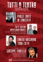 Tutti a Teatro, quattro appuntamenti imperdibili con protagonisti Paolo Conte, Vittoria Belvedere e Luca Ward, Enrico Brignano, Giuseppe Fiorello, in programma al Teatro Regio di Parma