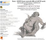 Opere grafiche di Umberto Boccioni della Galleria Nazionale di Cosenza