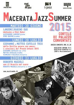 Macerata Jazz Estate, a Palazzo Conventati arriva il talento dei giovanissimi fratelli Cutello