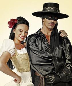 W Zorro, il nuovo musical di Stefano D'Orazio al Teatro Sistina di Roma