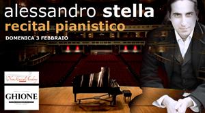 Alessandro Stella in concerto al Teatro Ghione di Roma