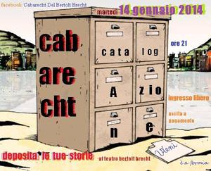 Teatro Bertolt Brecht altra corsa del Cabaret, il solo caso in cui il passeggero decide quanto pagare il biglietto