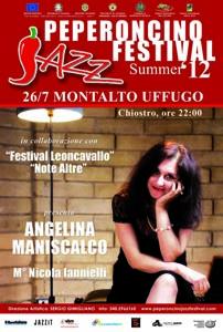 Liric in Jazz, sul palco di Montalto Angelina Maniscalco