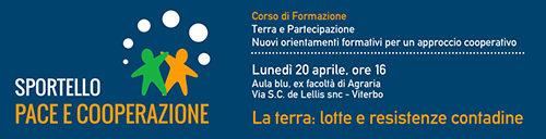Giornata Mondiale della Lotta Contadina, al via il seminario
