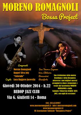 Moreno Romagnoli Bossa Project, il concerto sotto ai riflettori del Bebop Jazz Club di Roma