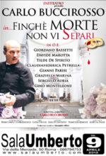 Finchè morte non vi separi, la commedia in scena al Sala Umberto di Roma