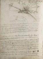 Il Codice sul volo degli uccelli di Leonardo Da Vinci al Museo Statale delle Belle Arti A.S. Puškin di Mosca