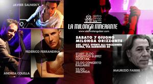 Elettro Tango Bar – Milonga itinerante a Roma