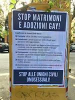 Roma, affissi anonimi manifesti omofobi. Duro il commento dell'avvocato Antonio Bubici dell'Associazione Nazionale ANDDOS