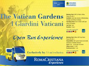 L'esperienza della visita ai Giardini Vaticani