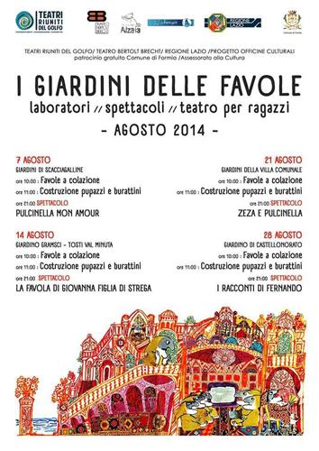 Zeza e Pulcinella, lo spettacolo teatrale segnalato nel calendario del festival itinerante di teatro per ragazzi a Formia