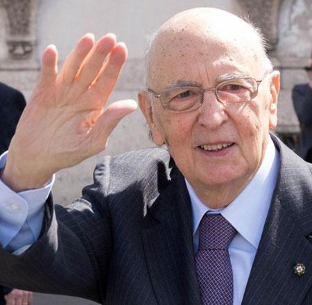Giorgio Napolitano si dimette da Predisente della Repubblica dopo nove anni
