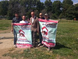 Gonnelli, pulita l'area cani di Villa Guglielmi