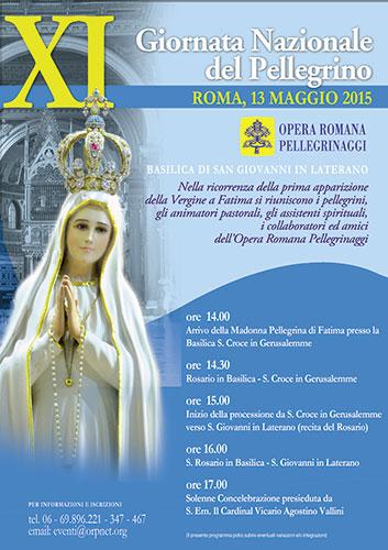 XI edizione della Giornata Nazionale del Pellegrino. Appuntamento nella Basilica di San Giovanni in Laterano