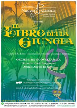 L'orchestra Sinfonica Nuovaklassica presenta Il libro della giungla, Concerto per famiglie all'Auditorium del Seraphicum a Roma