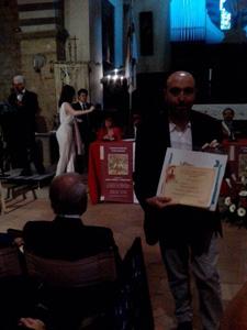 Alessandro Izzi vince il XXXIX  Premio Casentino