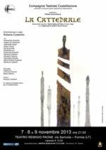 La prima De la Cattedrale, il nuovo spettacolo corale della compagnia Costellazione, in scena al Teatro Remigio Paone di Formia
