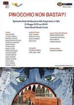 Pinocchio non basta?  Lo spettacolo che chiude il laboratorio teatrale dei ragazzi della Cooperativa La Valle di Gaeta in scena al Teatro Bertolt Brecht