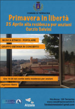 Primavera in libertà alla casa di riposo Curzio Salvini di Terracina