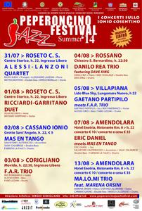 Il XIII Peperoncino Jazz sbarca a Roseto con Alessandro Lanzoni Quartet feat. Ralph Alessi in arrivo anche Eric Daniel e molti altri