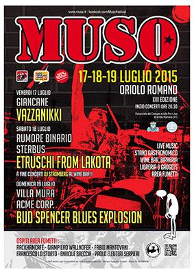 Il Muso spegne tredici candeline con una nuova edizione del Festival a Oriolo Romano