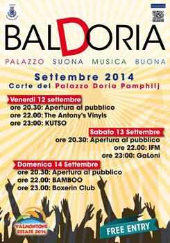 Baldoria Festival, al via con una tre giorni all'insegna della buona musica