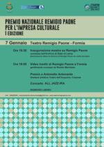 Il Premio Remigio Paone ad Antonello Antonante