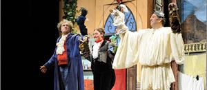 Amore e magia nella casa di Pulcinella, lo spettacolo in scena al Teatro Costantino Parravano di Cosenza
