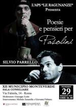 Poesie e pensieri per Pasolini al Municipio Roma XII