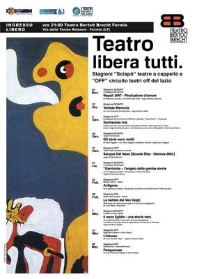 """Napoli, 1647 – Rivoluzione d'amore, il primo spettacolo della II Edizione di Sciapò ed il primo appuntamento con """"Teatro libera tutti"""