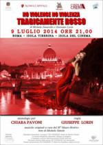 Tragicamente rosso, lo spettacolo in scena all'Isola Tiberina-Isola