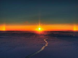 Un tramonto a tre soli