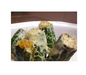Zucchine ripene con filetto di pesce spada