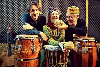 Acoustic Time trio in un Live a le Rane di Testaccio a Roma