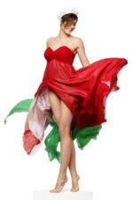 Miss Italia, il tricolore di Alice Sabatini