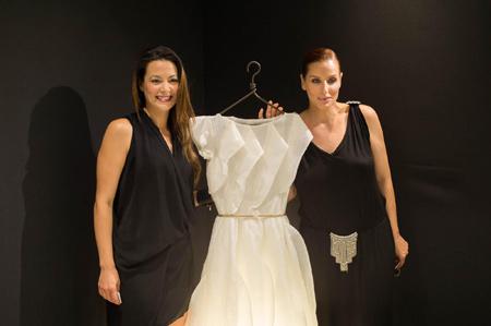 Aurora, l'installazione tra design e moda di Silvia Marica