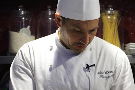 Niko Sinisgalli porta al Ristorante Tazio la sua cucina tra tradizione e innovazione