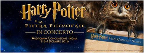 Harry Potter e la pietra filosofale, il Cine-Concerto