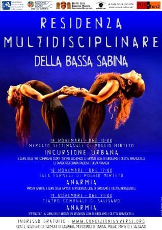 Residenza Artistica Bassa Sabina, i prossimi appuntamenti