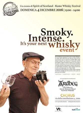 A tutta Torba, giornata dedicata ai whisky torbati