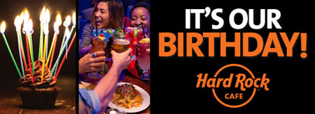 I primi 18 anni di Hard Rock Cafe a Roma