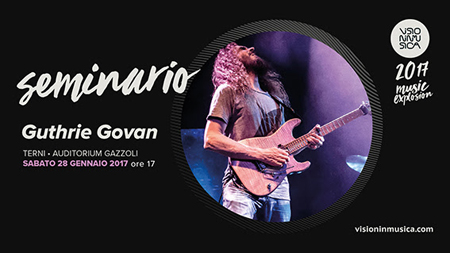 Visioninmusica 2017, Clinic Guthrie Govan