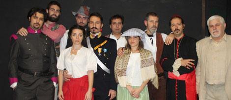 Il re dei boschi, lo spettacolo al Teatro Tordinona di Roma