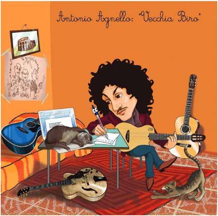 Vecchia biro, il primo album di Antonio Agnello