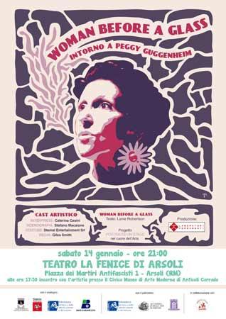 Woman before a glass, lo spettacolo in scena al Teatro La Fenice di Arsoli