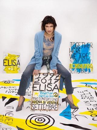 Elisa celebra i 20 anni di carriera con tre show unici