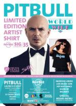 Hard Rock Cafe Roma, serata rap all'insegna di Pitbull