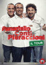 Panariello-Conti-Pieraccioni, a marzo lo spettacolo del trio toscano arriva nei Palasport di tutta Italia